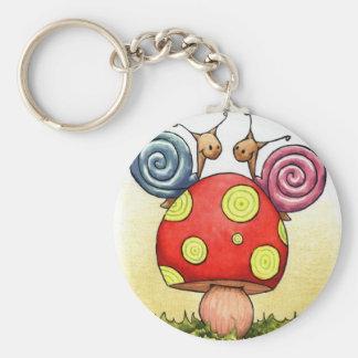 love snails keychain