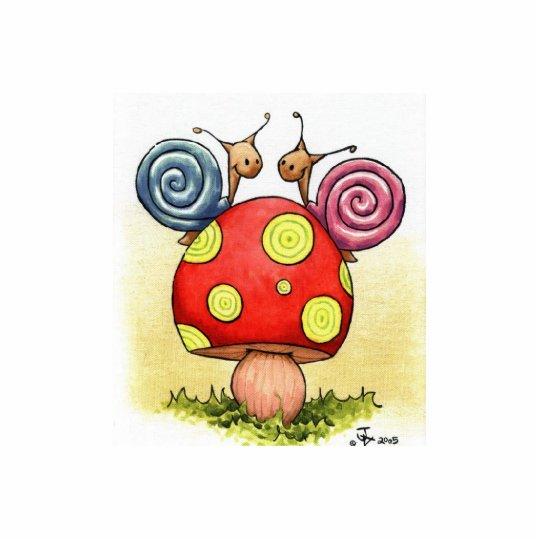 love snails sculpture