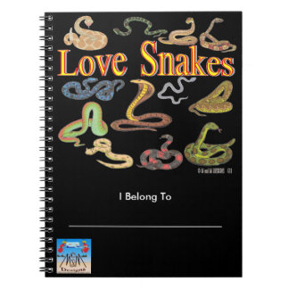 Love Snakes Notebook