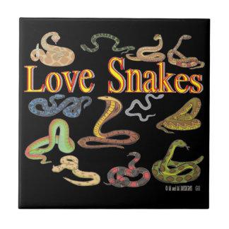 Love Snakes Tile