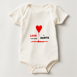 Love So Good It Hurts. by Sharles Baby Bodysuit