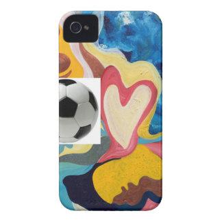 Love Soccer Ball Case-Mate iPhone 4 Case