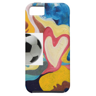 Love Soccer Ball iPhone SE/5/5s Case