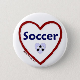 Love Soccer Button
