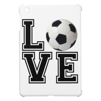 Love Soccer College Style iPad Mini Cover