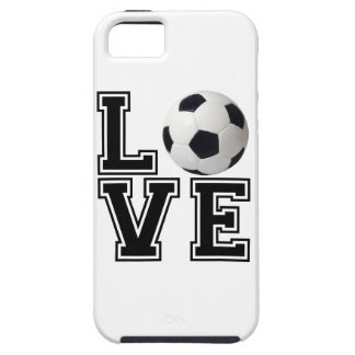 Love Soccer College Style iPhone SE/5/5s Case