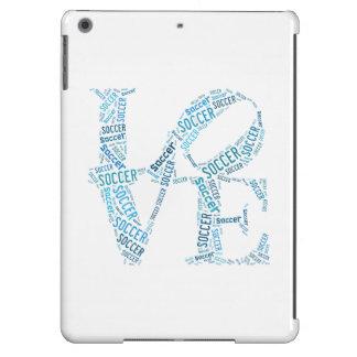 Love Soccer iPad Air iPad Air Cases