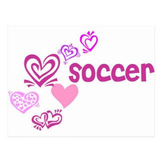 Love Soccer Postcard