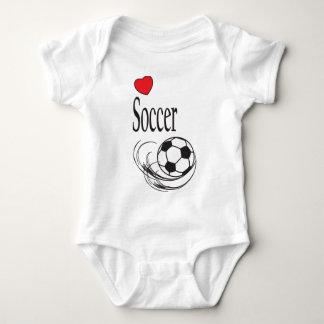 Love Soccer | Sports Baby Bodysuit