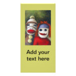 Love Socks, Add your text here Personalized Photo Card