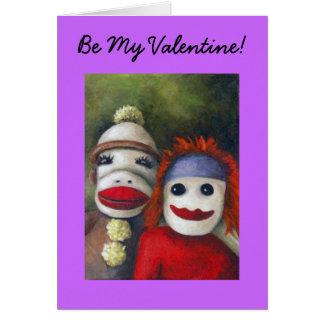 Love Socks, Be My Valentine! Cards