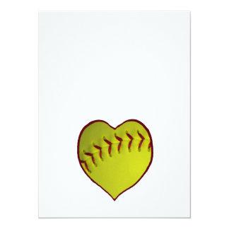 Love Softball Card