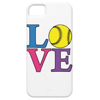 LOVE Softball iPhone 5 Cases
