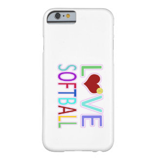 LOVE SOFTBALL iPhone 6 CASE