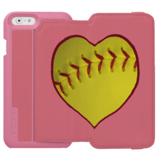 Love Softball iPhone 6/6s Wallet Case