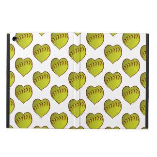 Love Softball Pattern Case For iPad Air