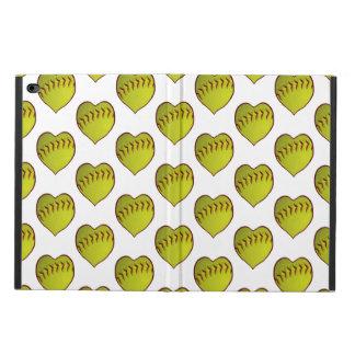 Love Softball Pattern Powis iPad Air 2 Case