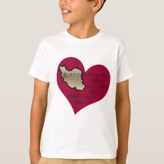 LOVE SOLDIER IRAN VAL DAY T-Shirt
