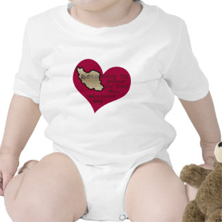 LOVE SOLDIER IRAN VAL DAY ROMPERS
