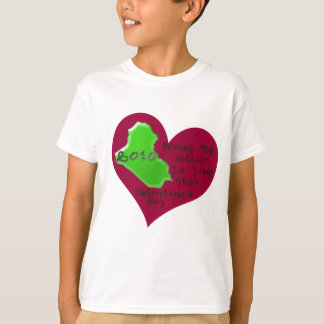 LOVE SOLDIER IRAQ VAL DAY T-Shirt