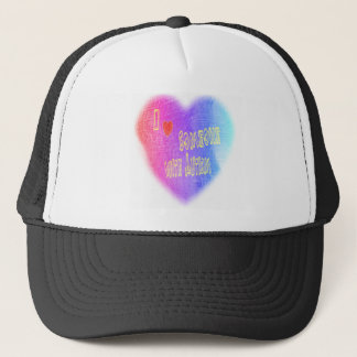love someone w autism 2 trucker hat