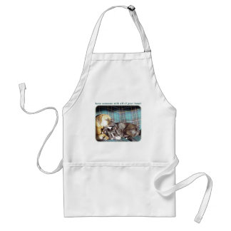 Love Someone with all of your Heart Adult Apron