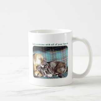 Love Someone with all of your Heart Mugs