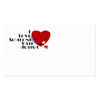Love someone with Autism Card