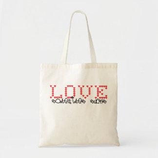 Love sometimes sucks - Bag for lovesick girls