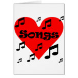 Love song cards