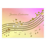 Love Song Information Card Business Cards