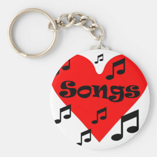 Love song keychain