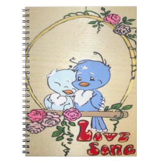 Love Song Notebook
