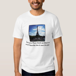 Love song to Paris shirt
