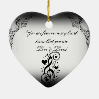 Love Song You Are_ Ceramic Ornament