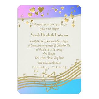 Love Songs Bat Mitzvah Card