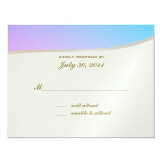 Love Songs Bat Mitzvah/ Response Card