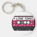 Love Songs Tape Keychains