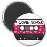 Love Songs Tape Magnets
