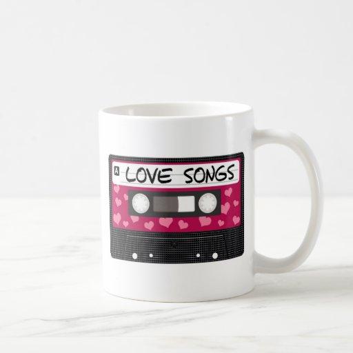 Love Songs Tape Mugs