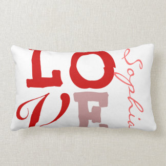 Love Sophia Personalized Name Pillowcase for Girls Pillow