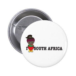 Love South Africa Buttons