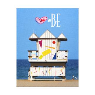 Love South Beach 6 ST Canvas Print