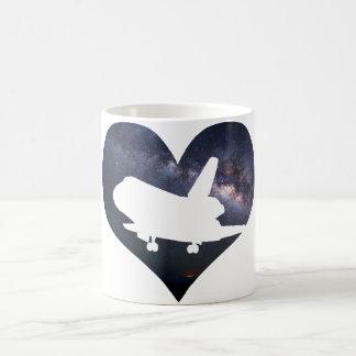 Love Space Shuttle Mug