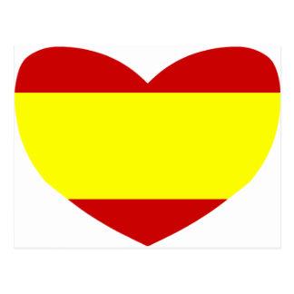 Love Spain Postcard