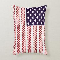 Love Spangled Banner Throw Pillows