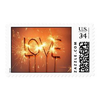 Love Sparklers Stamp