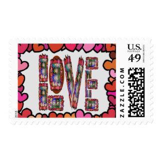LOVE Sparkles Postage