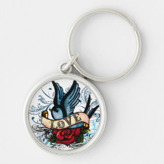 Love Sparrow Key Chain