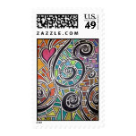 Love Spectrum Original Watercolor Stamp